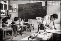 The teachers at Elpis are mostly Burmese or Karen refugees working for little to serve the children there.